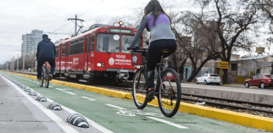 carril bici a mendoza