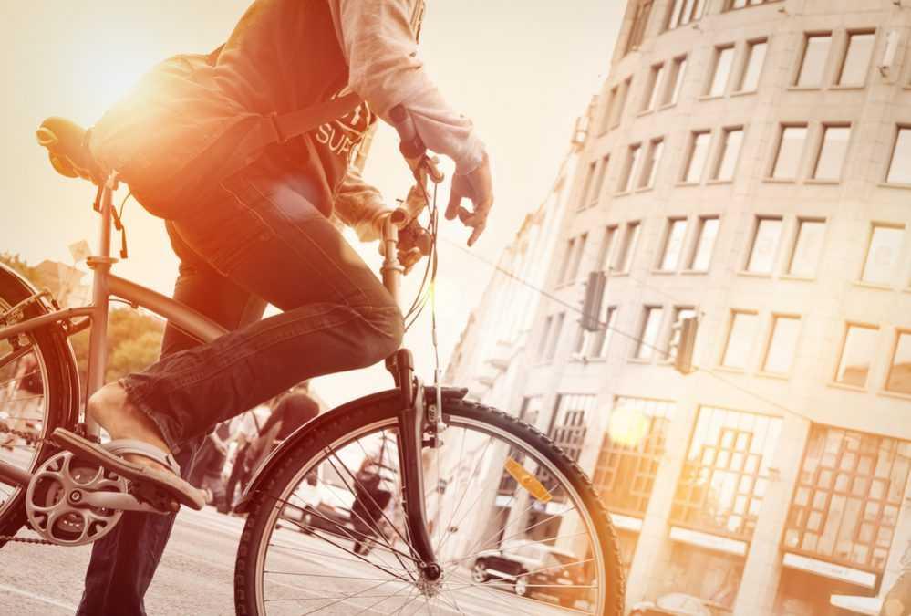 Como ir en bicicleta por ciudad
