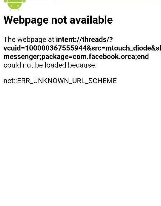 How to Fix Unknown URL Scheme in Android WebView - Zid's world