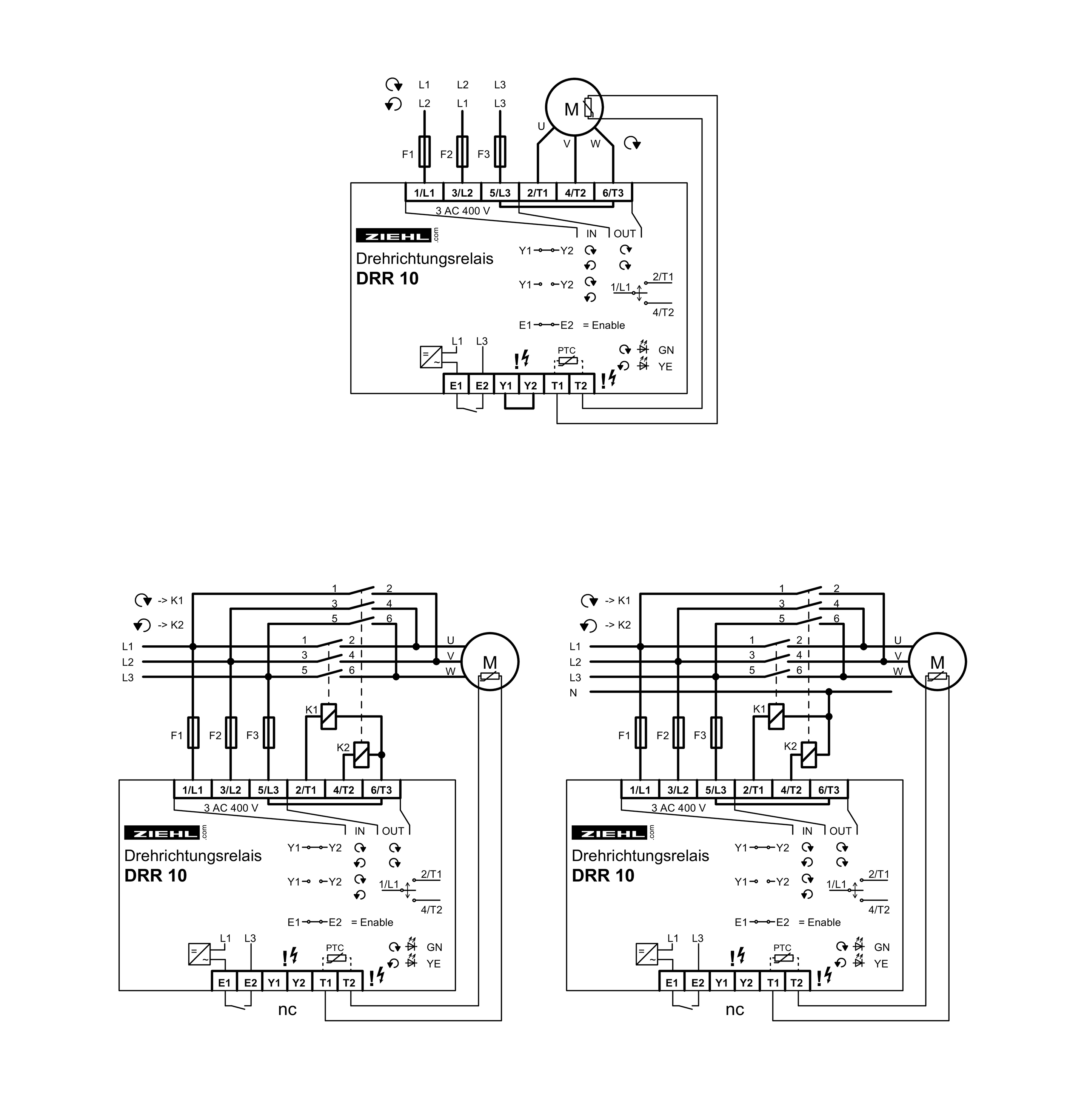 Phase Sequence Relay Type Drr10
