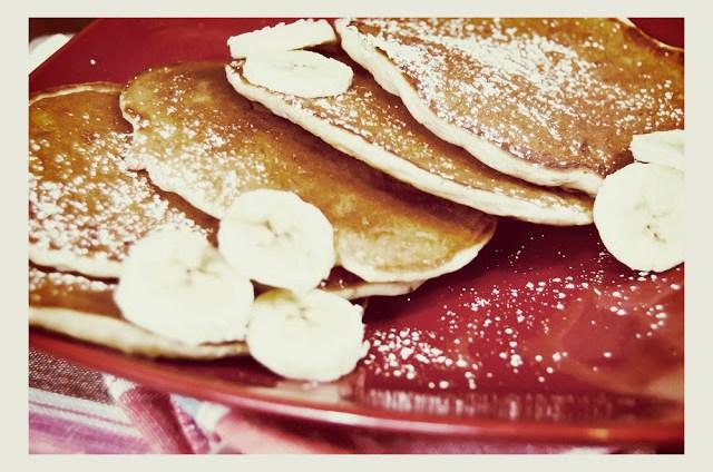 Bananowe pancakes - amerykańskie naleśniki z bananami