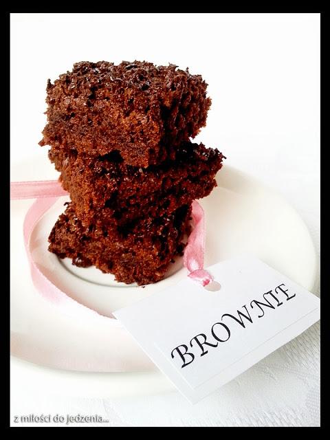 Brownie - klasyczne, amerykańskie, czekoladowe ciastko