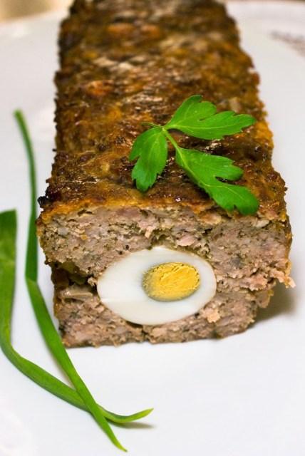 Pieczen rzymska z jajkiem