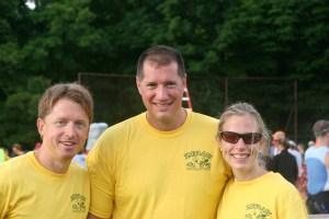 Jim Reed, Adam Gee and Christina Sonsire