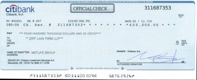 Citibank-check