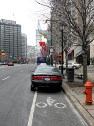 A-Philly-bike-lane