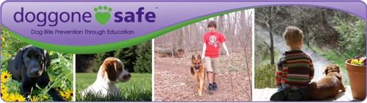 Doggone Safe banner - Doggone Safe: Website for Dog Bite Prevention, Support for Dog Bite Victims