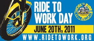 Support and participate in Ride To Work Day!
