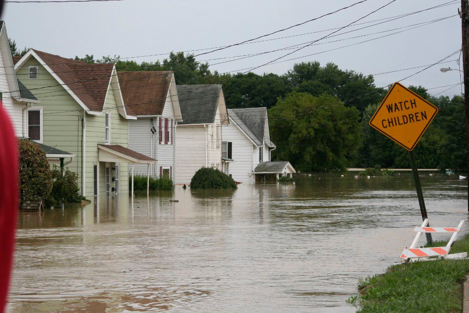 Flood3 - UPDATED WITH PHOTOS: Our 'Valley Girl' Helps With Flood Recovery, Says NY Injury Lawyer