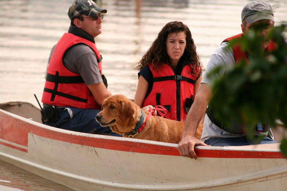 Flood5 - UPDATED WITH PHOTOS: Our 'Valley Girl' Helps With Flood Recovery, Says NY Injury Lawyer