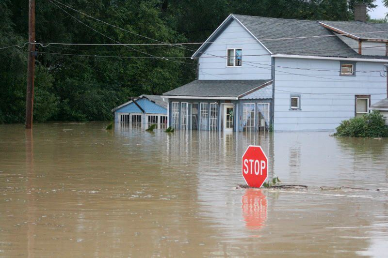 Flood6 - UPDATED WITH PHOTOS: Our 'Valley Girl' Helps With Flood Recovery, Says NY Injury Lawyer