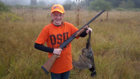 Meaganyouthpheasant 550x310 - NY Sportsmen Need To Welcome ALL Hunters To Our Woods