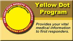 Yellow dot main - Yellow Dot Program Could Save Lives In Vehicle Accidents And Home  Emergencies, Says NY Injury Lawyer