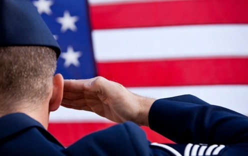 VeteranSalute 496x312 - Ziff Law Firm To Hold Veteran Tribute Ceremony Friday Night At First Arena In Elmira