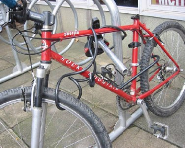 bike lock 4 4 - What To Do If Your Bike Is Stolen! Try Rejjee ... And Other Advice From A Veteran Bicycle Law Lawyer