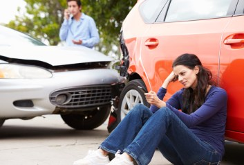 accident frustration1 - Does Your Car Insurance Carrier Penalize You When You Were Not At Fault?