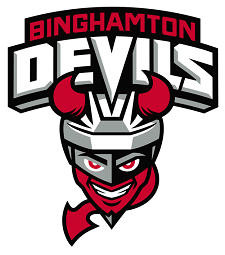 Binghamton Devils Logo 1 - Veteran Of The Game Program Skates To New Home In Broome County