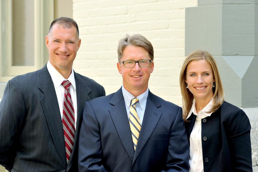 Adam Gee, Jim Reed, and Christina Sonsire.