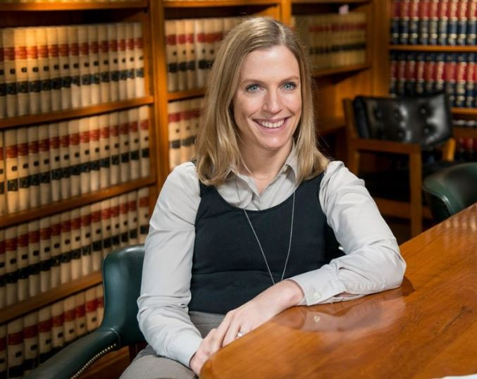 Christina edited photo - On Counsel's Corner, Sonsire Breaks Down Complex Legal Issues For TV News Show