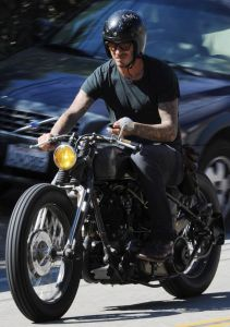 David Beckham was spotted using his cell phone while driving his vintage Harley Davidson motorcycle - Florida Motorcyclist May Have Been Texting When Killed In Crash, Says NY and PA Motorcycle Attorney