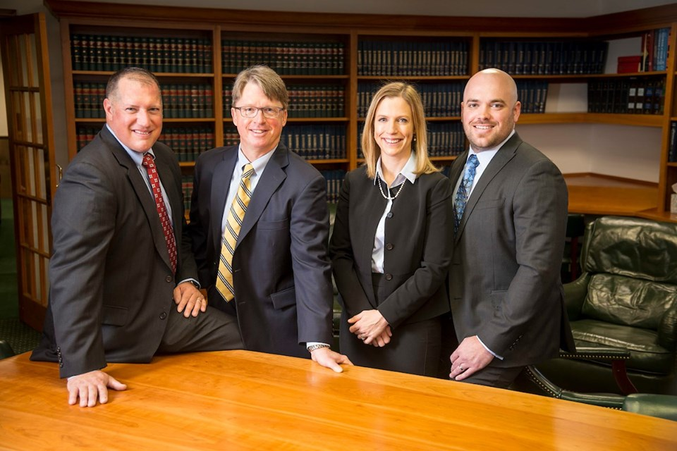 Four lawyers - Ziff Law Voted Best Law Firm In The Twin Tiers For Seventh Year In A Row!
