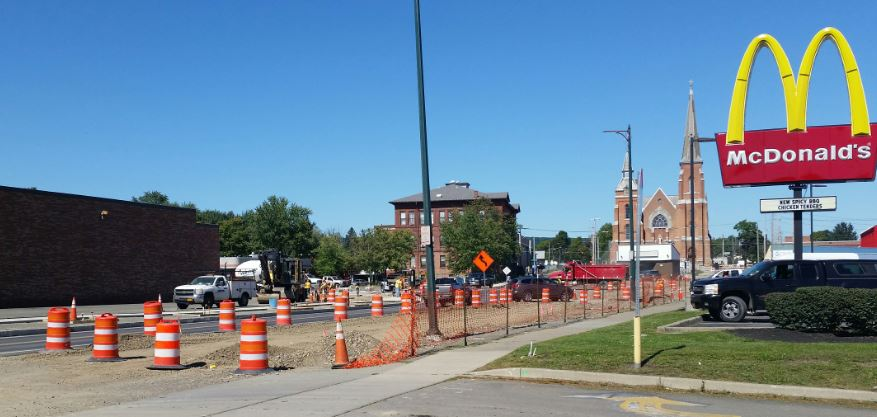 new main photo use - New Elmira Roundabout Almost Ready -- Are You Ready To Navigate It Safely? Read Our 10 Tips And Facts