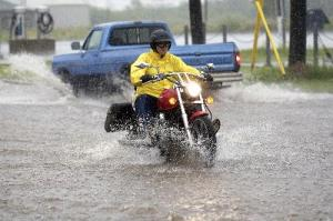 rain cycle - Practice To Ride Safely In The Rain, Says NY And PA Motorcycle Law Lawyer