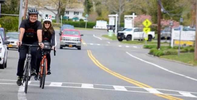 safe passing photo - Suffolk County First In NY To Adopt 3-Foot Passing Law; It's Your Turn, Albany!