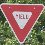 yield sign 150x150 - New Roundabout Opens In Elmira, And City Should Educate Drivers About Safe Navigation