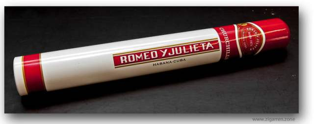 Romeo Y Julieta Churchill im Alutubo