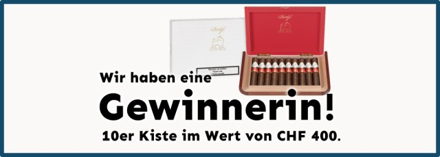 Davidoff Year Of The Ox 2021 Gewinnerin