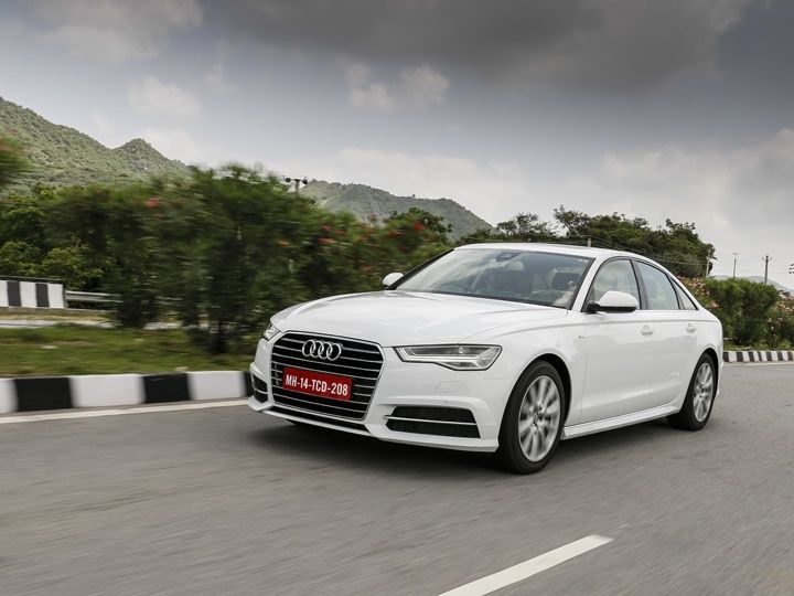 Audi A6 India review action shot