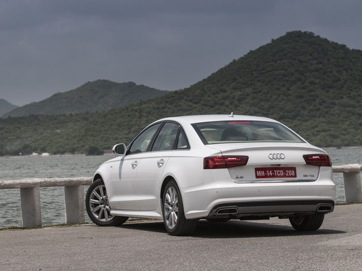 Audi A6 India review rear