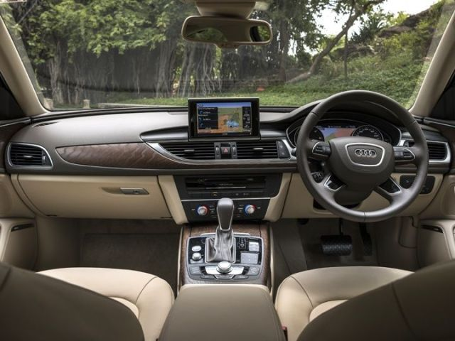 Audi A6 India review interior