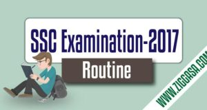SSC Examination Routine 2017
