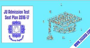 Seat Plan -Jahangirnagar University Admission