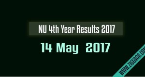 NU 4th Year Final Result 2015
