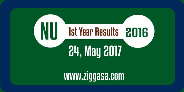 NU 1st Year Results 2016