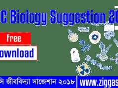 SSC Biology Suggestion 2018