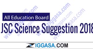 JSC Science Suggestion 2018
