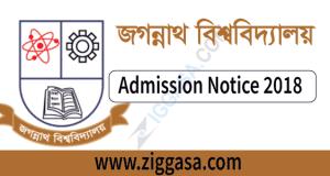 Jagannath University Admission Notice - ziggasa.com