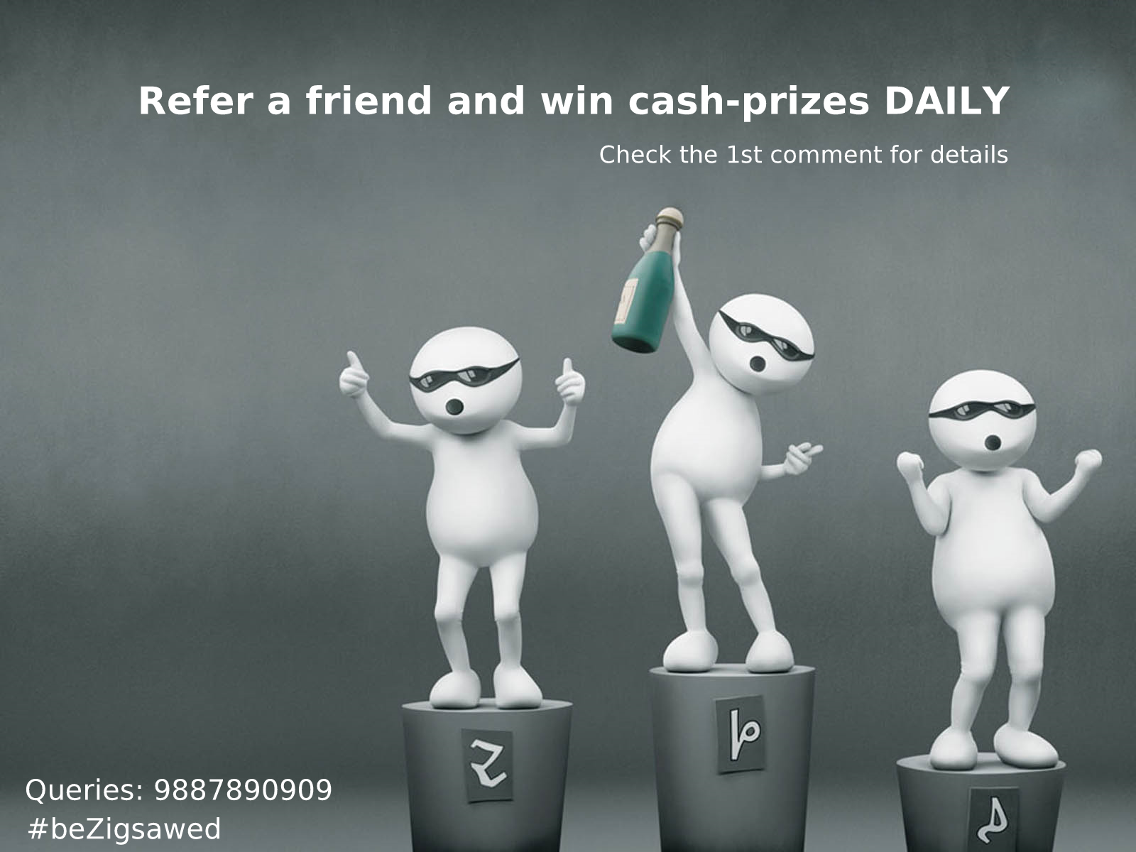 Refer your friends and win referral incentives
