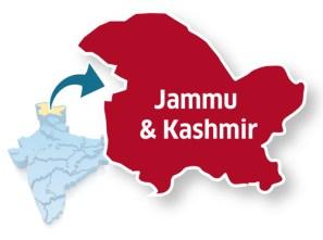 Image result for jammu and kashmir political map