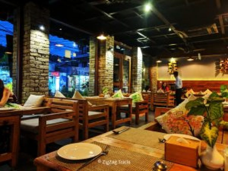 A very relaxing ambience in Fresh Elements in Pokhara Nepal.