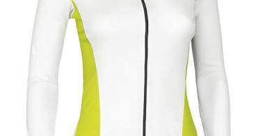 Wielerkleding dames specialized wit geel