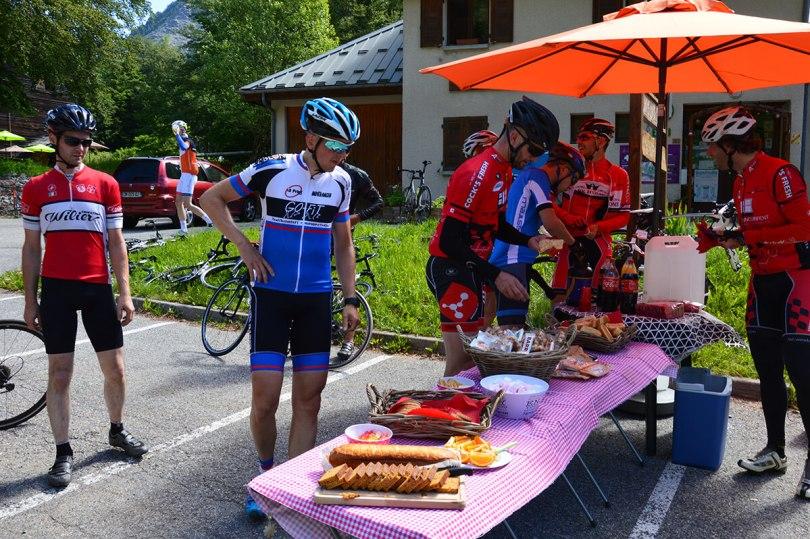 Voeding tijdens wielrennen
