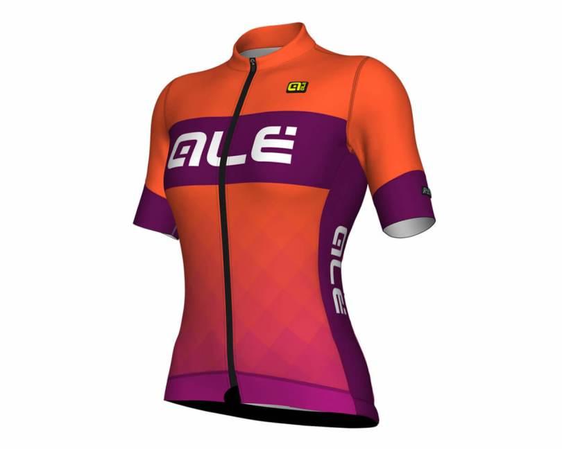 Kleur dames wielerkleding