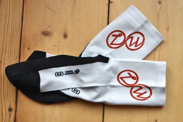 Voorkant Zijwielrent sokken