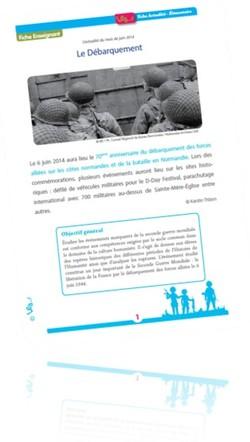 Le débarquement du 6 juin 1944