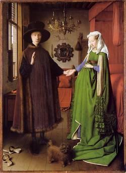 Les époux Arnolfini, Jan Van Eyck